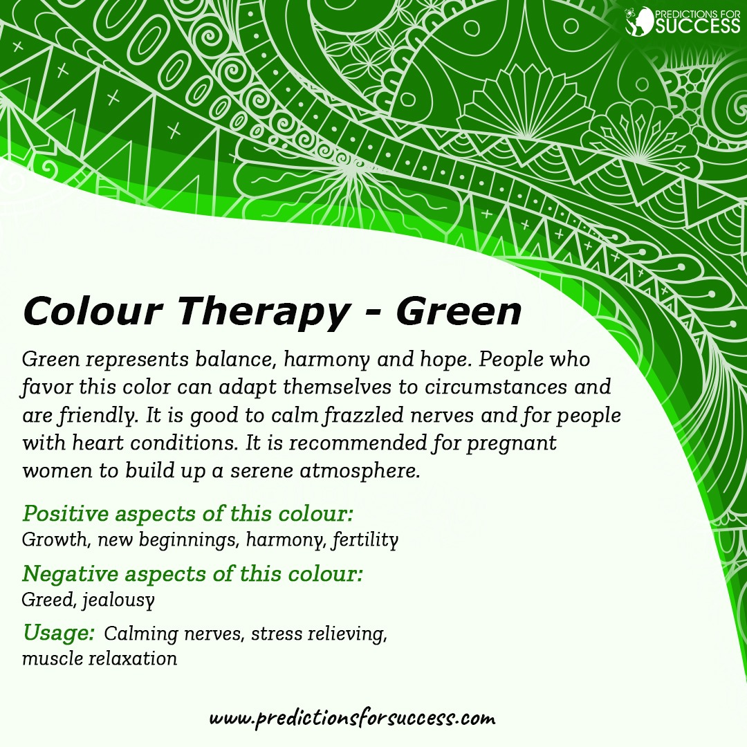 Green colour therepy
